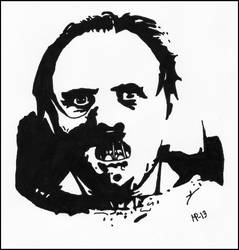 Dr. Hannibal Lecter by JOrte