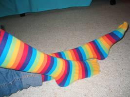 Toe Socks by Pamity
