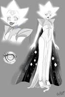 White Diamond canon design by heartbrakercake
