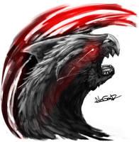 [FanArt] The Dreadful nargacuga by NoUGrad