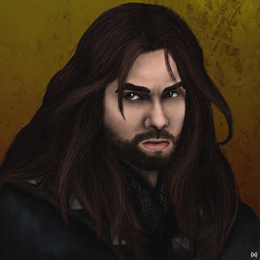Kili - The Hobbit by XantheUnwinArt