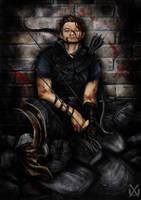Hawkeye by XantheUnwinArt