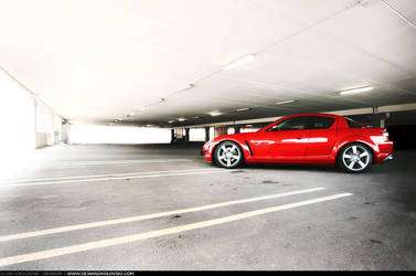 Mazda RX 8 - garage side - by dejz0r