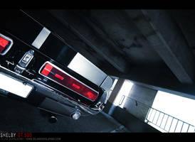 Shelby GT500 - sexy back - by dejz0r
