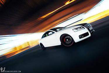 AUDI A5 ABT - colors speeding by dejz0r