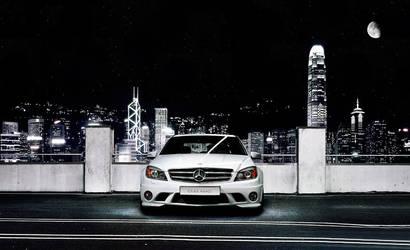 Hong Kongish MB C63 AMG by dejz0r