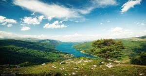 Lake in Mavrovo by dejz0r