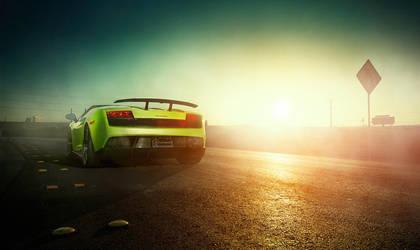Lamborghini Las Vegas by dejz0r