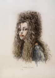 Young Bellatrix Lestrange by Michelle-Winer