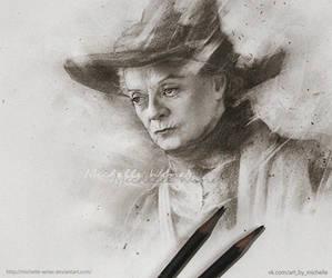 Minerva McGonagall by Michelle-Winer