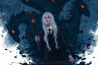 Luna Lovegood by Michelle-Winer