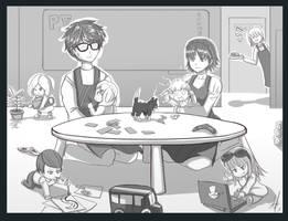 P5 kindergarten by Leonartha03