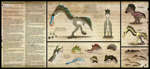 Bainoceirus reference by AltairSky