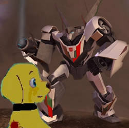 Transformers Prime: The Autopups - Protection by DragonPatrol95