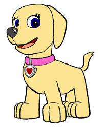 Molly's Pup Form by DragonPatrol95