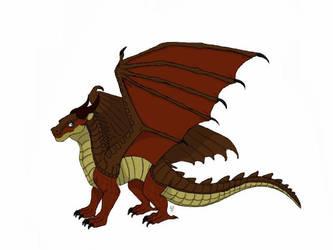 Wings of Fire OC character - Rocky by DragonPatrol95