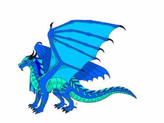 Wings of Fire OC character - Delta by DragonPatrol95