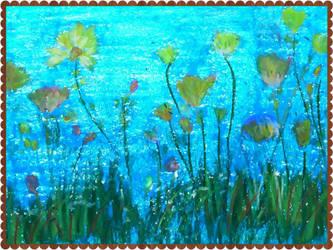 in blue by irmaGallerys