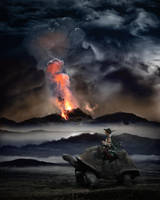Refugees of eruption, vers. 2 by ejkej0046