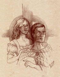 Fan Art: Aidan and Branwyn by Riana-art