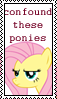 Confound These Ponies Flutter by marienoire