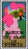 Random Thy Name Is Pinkie by marienoire