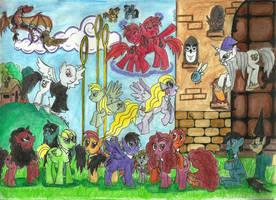 HP: friendship is magic by hatoola13