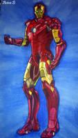 Iron Man by hatoola13
