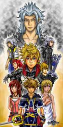 Kingdom Hearts 2 Collage by Rinkuchan27