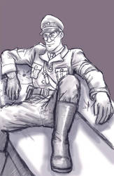 Request: Military Medic by Rinkuchan27