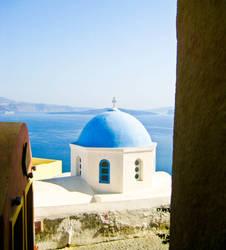 Santorini View 1 by VonnyM