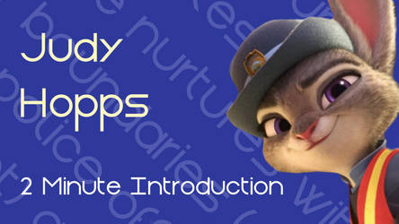 Judy Hopps - 2 Minute Sample Thumbnail by characterconsultancy