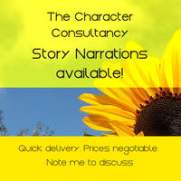 Voice Narration Commissions Available! by characterconsultancy