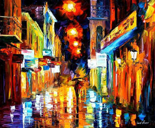 Lights by Leonid Afremov by Leonidafremov