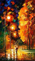 Nature by Leonid Afremov by Leonidafremov