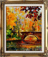The link to fall by Leonid Afremov by Leonidafremov