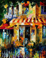 City colors by Leonid Afremov by Leonidafremov