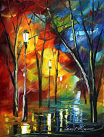 My tears by Leonid Afremov by Leonidafremov