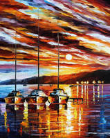 Original oil on canvas painting by Leonidafremov