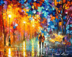 The truth of togetherness by Leonid Afremov by Leonidafremov