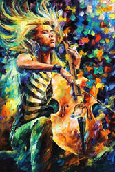 RHAPSODY by Leonid Afremov by Leonidafremov