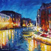 Venice In Color by Leonid Afremov by Leonidafremov