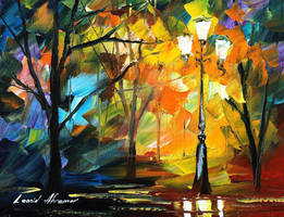 The Warmth Of Feelings by Leonid Afremov by Leonidafremov
