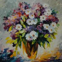 Freshness by Leonid Afremov by Leonidafremov