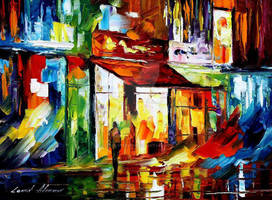 The song of the city by Leonid Afremov by Leonidafremov