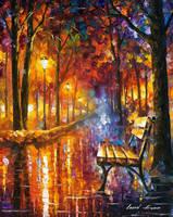 Loneliness Of Passion by Leonid Afremov by Leonidafremov
