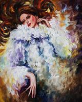 Elegance by Leonid Afremov by Leonidafremov