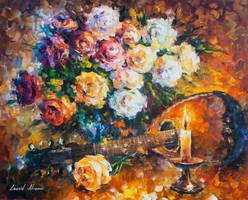 The Dance Of Light by Leonid Afremov by Leonidafremov