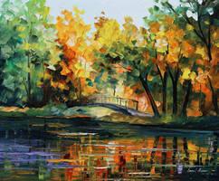 Lake Of Hope by Leonid Afremov by Leonidafremov