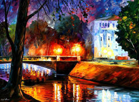Memories Of The First Love by Leonid Afremov by Leonidafremov
